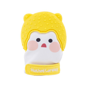 Petit Finger Glove Silicone Teether Mango